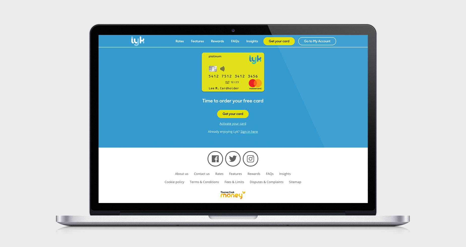 Lyk by Thomas Cook Money Case Study | Cyber-Duck