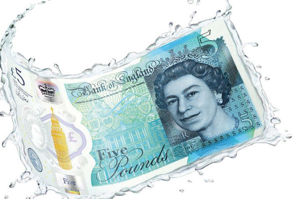 Polymer Fiver in water
