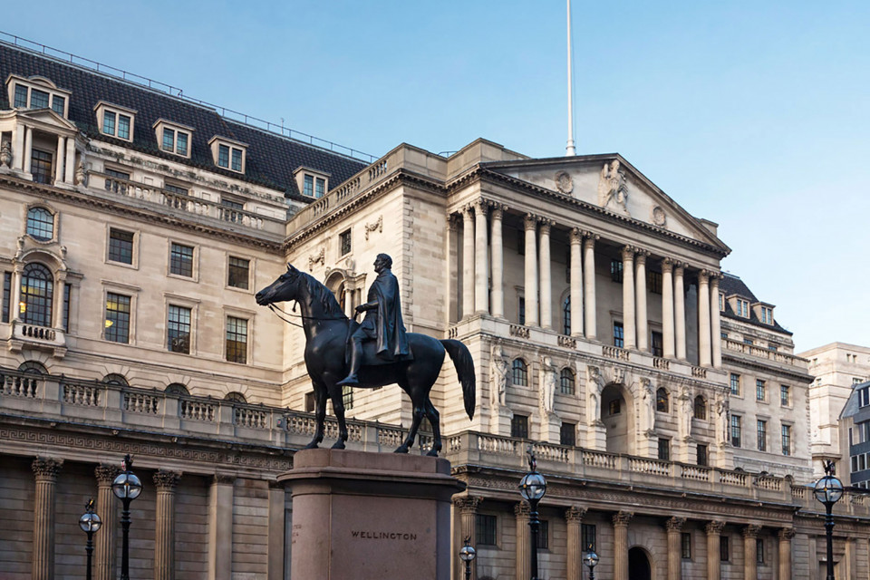 Outside the Bank of England