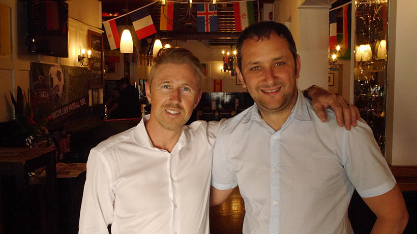 Justin Cooke is the new Non-Executive Director at Cyber-Duck. Here he is with our Founder and CEO, Danny Bluestone