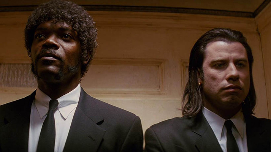 Samuel L Jackson and John Travolta in Pulp Fiction