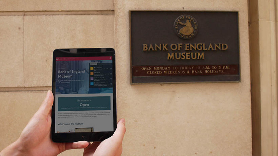 The Bank of England Museum and website
