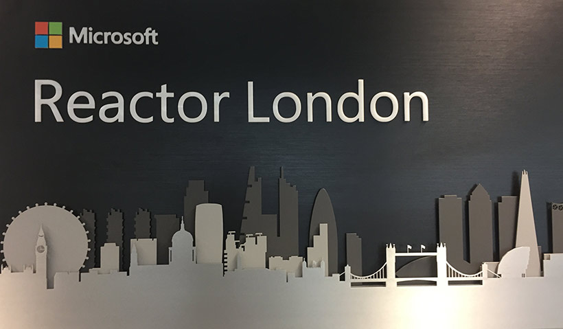 Microsoft Reactor London