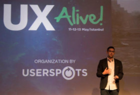 CCO Matt Gibson presents at UX Alive in Istanbul
