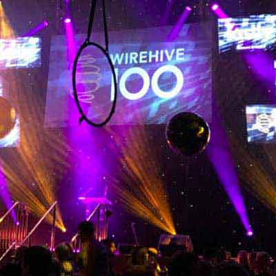 Wirehive 100 Awards Circus 2015