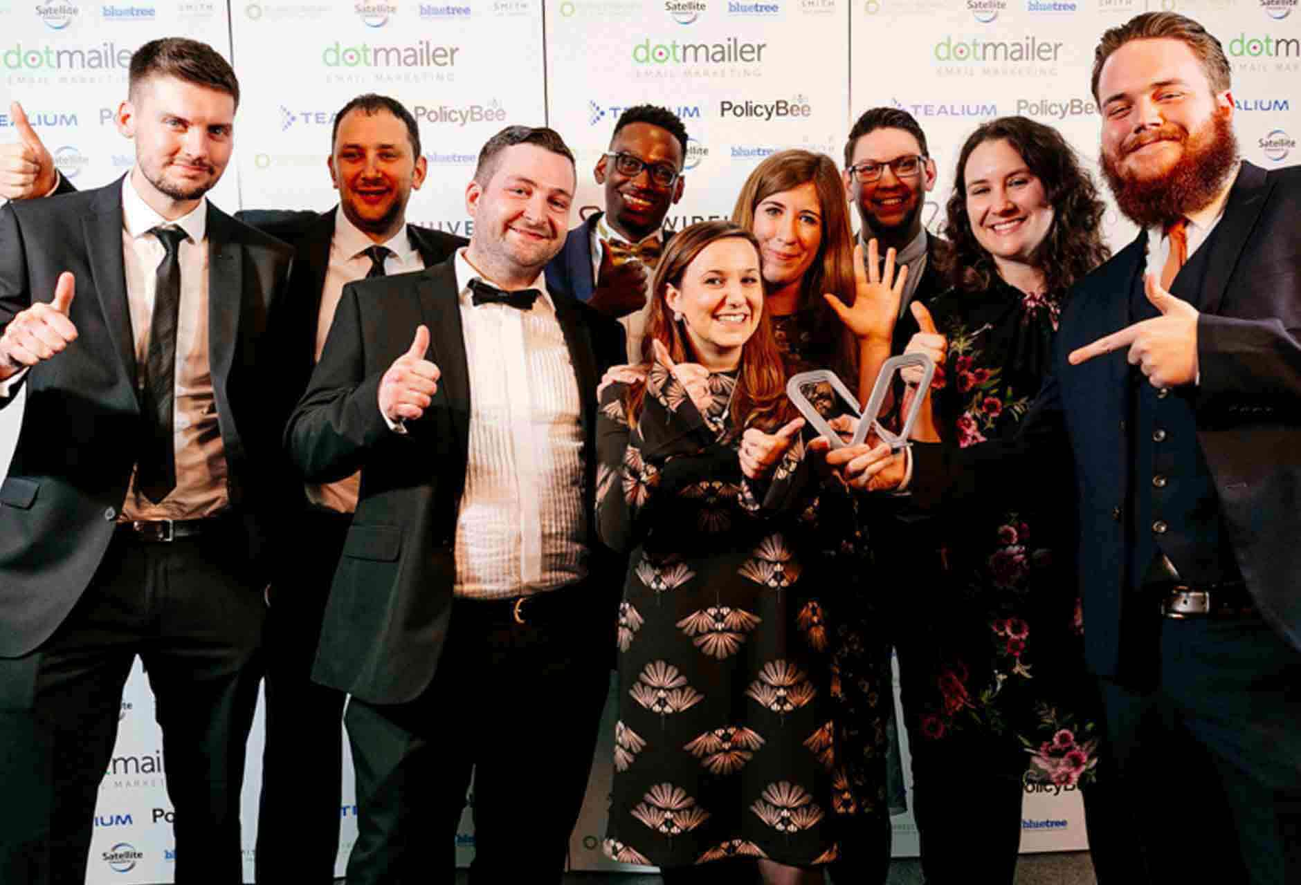 Wirehive 100 2017 Agency Team of the Year Winners