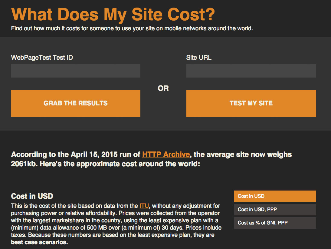 What Does My Site Cost