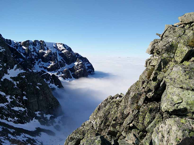 Above the cloud-line in Scotland