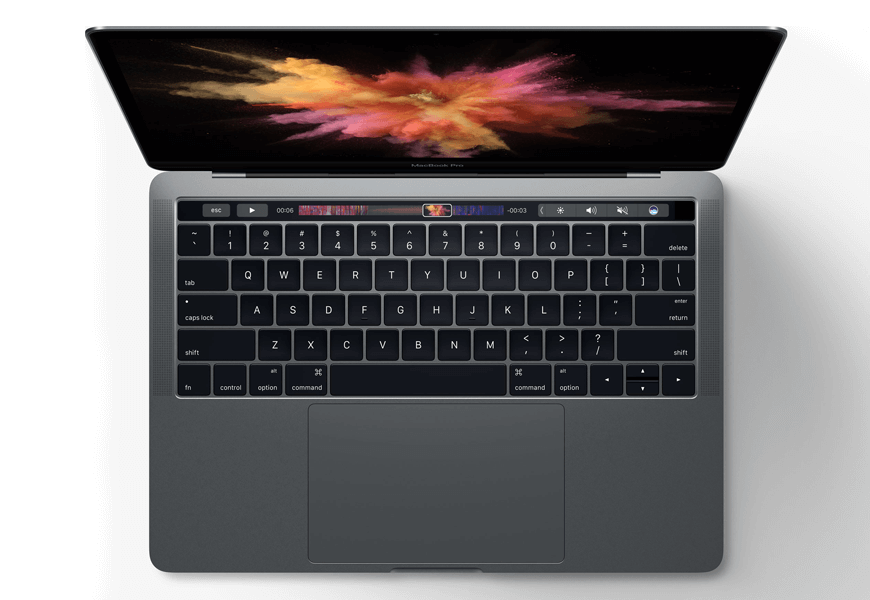 Apple's new MacBook Pro with TouchBar