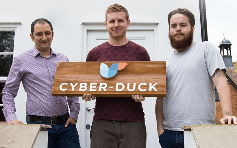 Deconstructing the Cyber-Duck logo