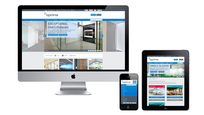 Optima Responsive Web Design