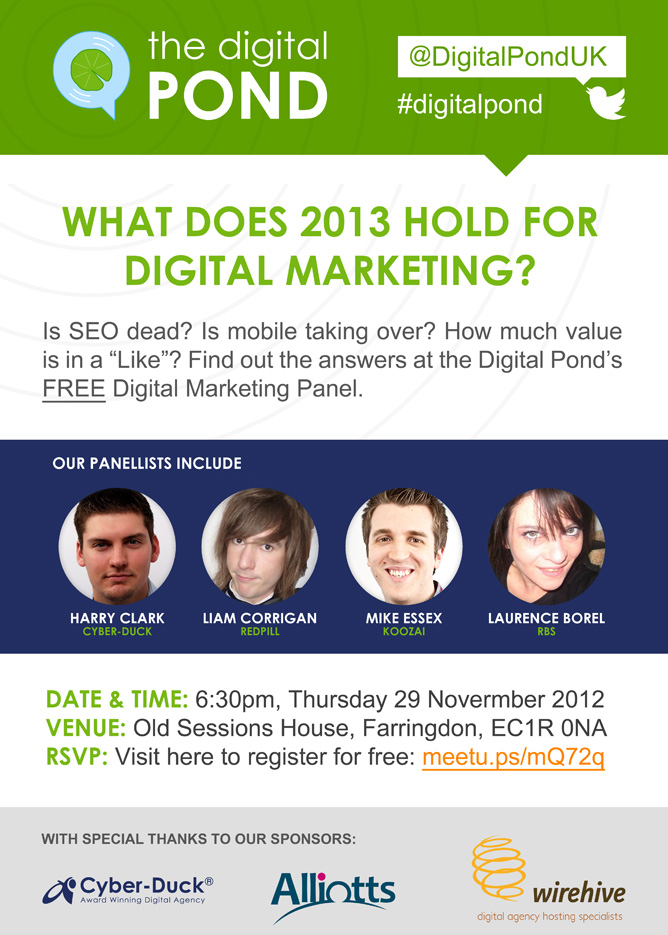Digital Marketing 2013 flyer