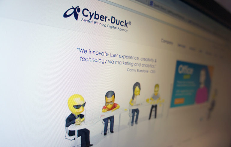 old cyber-duck website