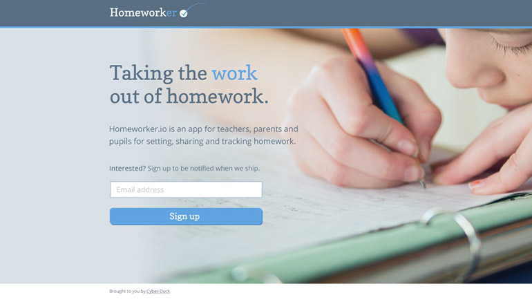 The Homeworker App