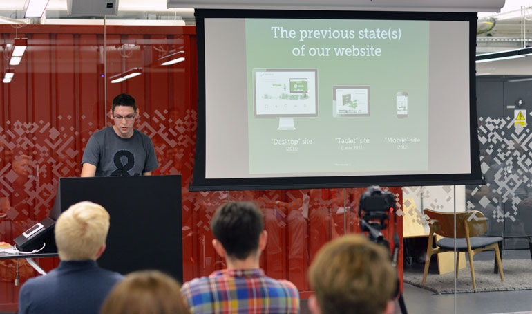 Untangle The Web - Matt speaking about responsive design