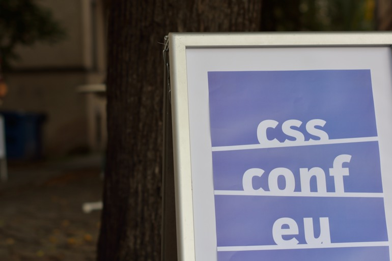CSS Conf sign
