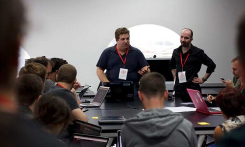 Benjamin presents at Mozilla Festival 2012