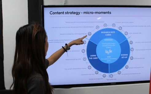 Content micromoments analysis