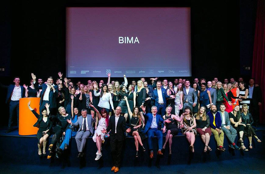 BIMA Hot 100 2016 - Ceremony Group Photo