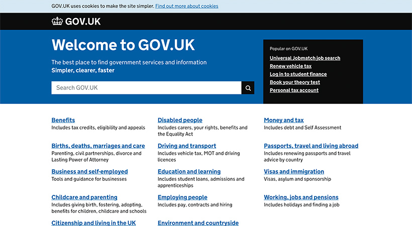 GOV.UK Service Design